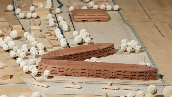 Modell Neubau Stadtteilschule Kirchwerder