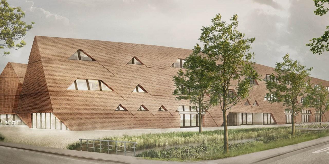 Siegerentwurf für den Neubau der Stadtteilschule Kirchwerder