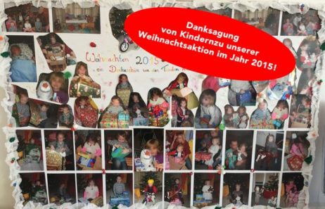 Danksagung von Kindern 2015
