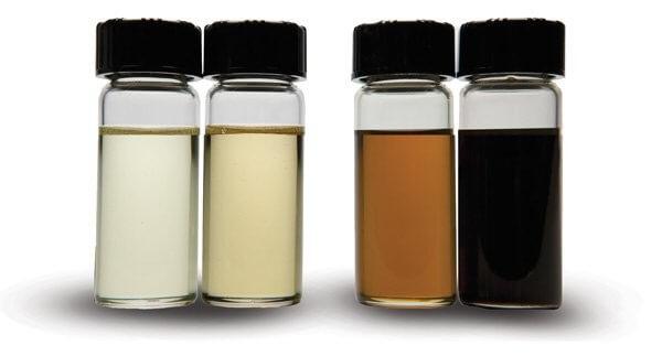 dầu thủy lực bị đổi màu