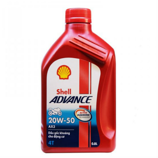 shell advance ax3
