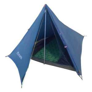 Blue The Divide Ultralight weight hiking camping tent front open