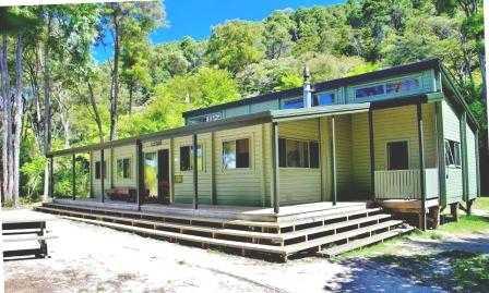 Bark Bay Hut Abel Tasman Track