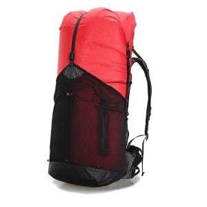 Lightweight Backpack for Hiking 55L Unisex Red 1130 g