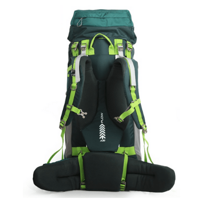 Maleroads 70L Tramping Pack Rear View