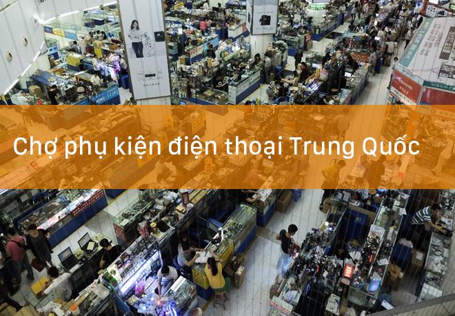 chợ phụ kiện điện thoại giá rẻ