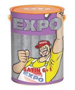 Sơn Nước Expo Satin 6+1 For Exterior Ngoại Thất