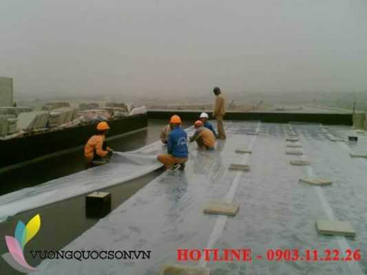 hỉnh ảnh thi công sơn tàu biển tại vuongquocson.vn