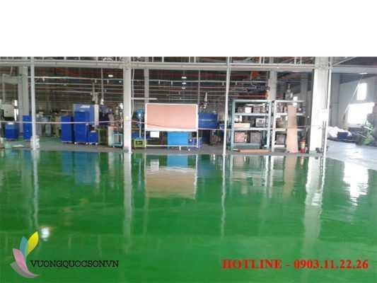 Sơn Epoxy trong ngành công nghiệp sử dụng cho sàn nhà xưởng