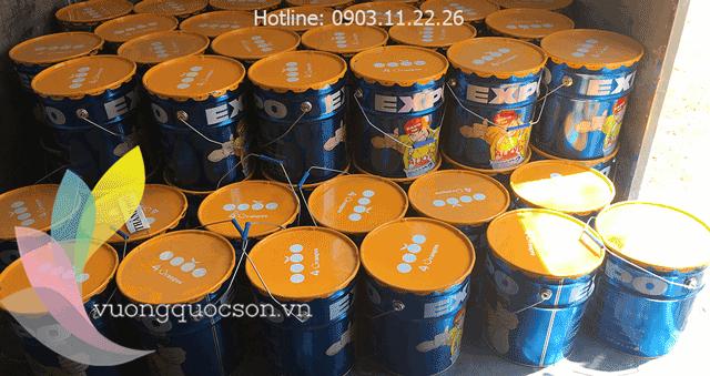 Kinh nghiệm tìm nhà đại lý sơn Expo giá rẻ tại TP HCM