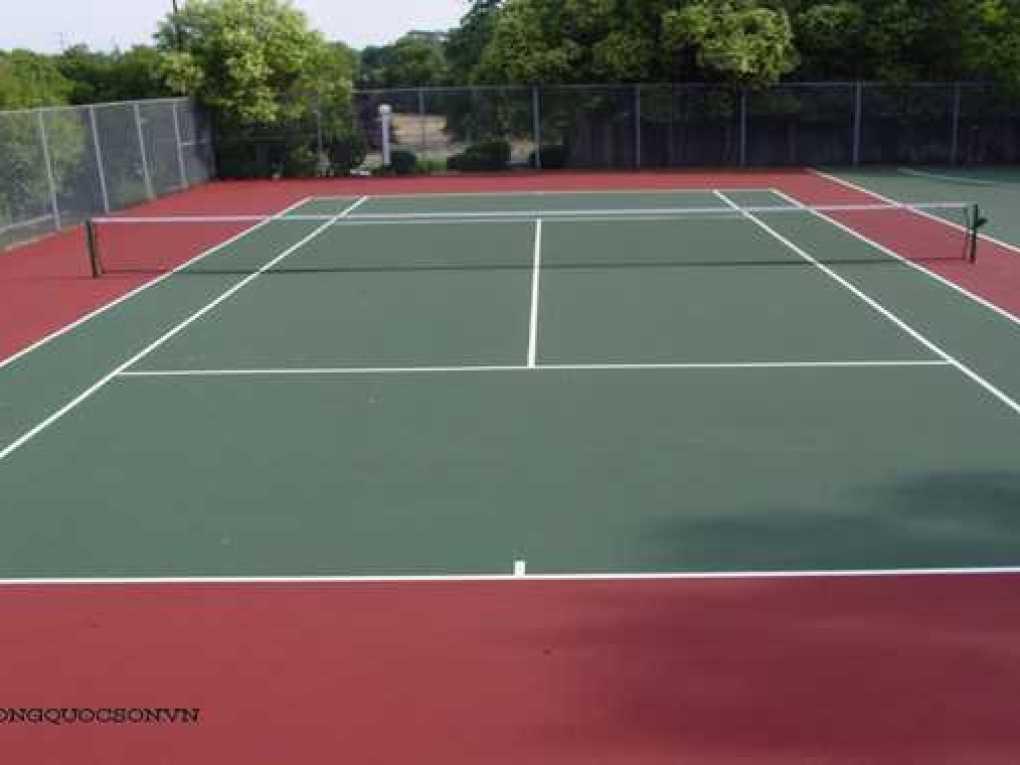 bảng báo giá thi công xây dựng sân tennis trọn gói