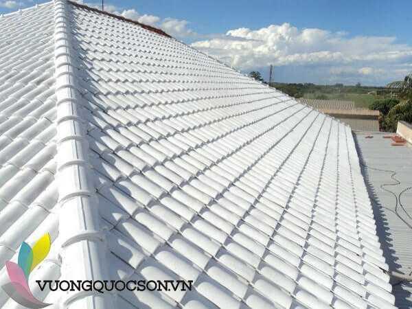 sơn chống nóng cho mái tôn