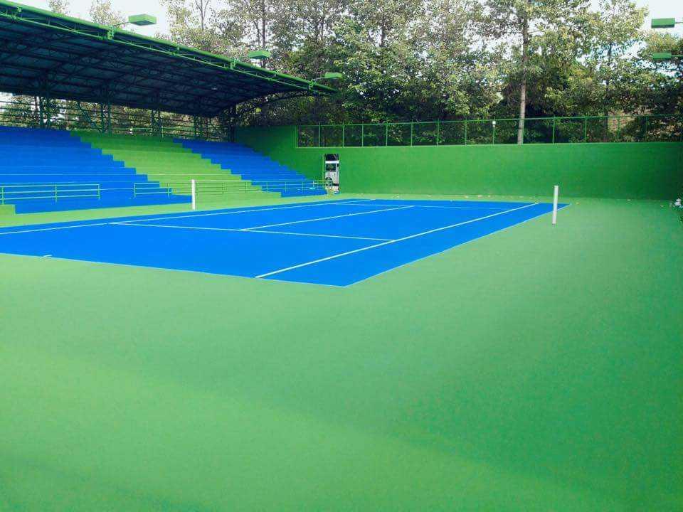 Biện pháp thi công sơn sân Tennis mới nhất