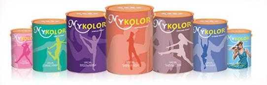 đại lý phân phối sơn mykolor giá rẻ