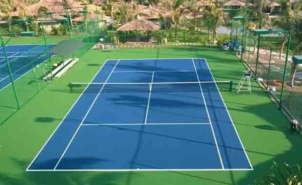Thi Công Sơn Sân Tennis Giá Rẻ