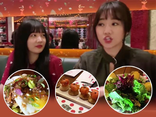 Hari Won khoe đi ăn 1 triệu 1 bữa, dân mạng than: Bằng 5 ngày ăn của nhà tôi rồi