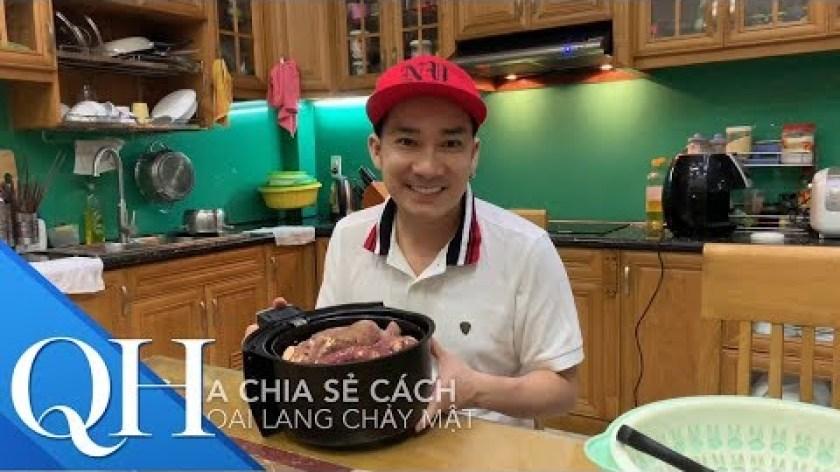 cách nấu khoai lang mật - Cách làm khoai lang mật nướng của Quang Hà