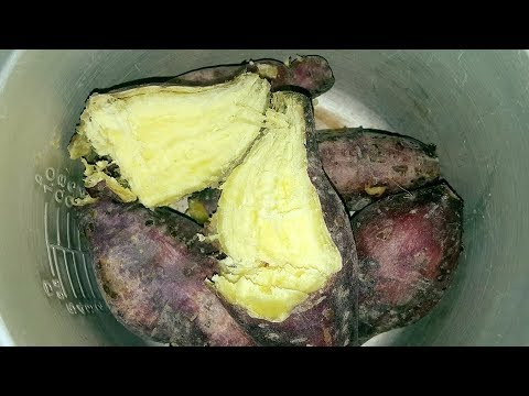 hướng dẫn luộc khoai lang ngon - Cách luộc khoai lang ngon bùi thơm!