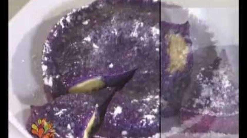 hướng dẫn làm bánh khoai lang - [VUI SỐNG MỖI NGÀY] Ẩm thực | Hướng dẫn làm Bánh khoai lang tím