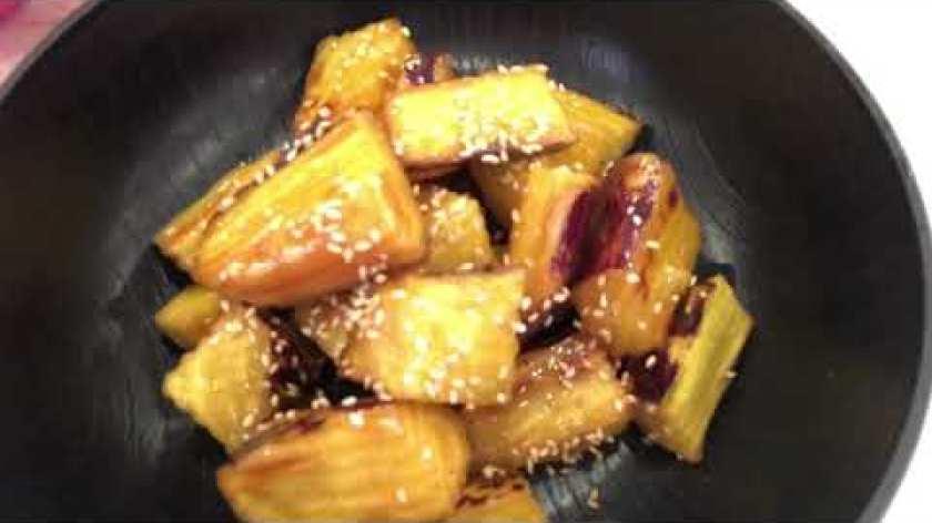 cách nấu khoai lang mật - Cách làm khoai lang mật ong/ Hana's Channel