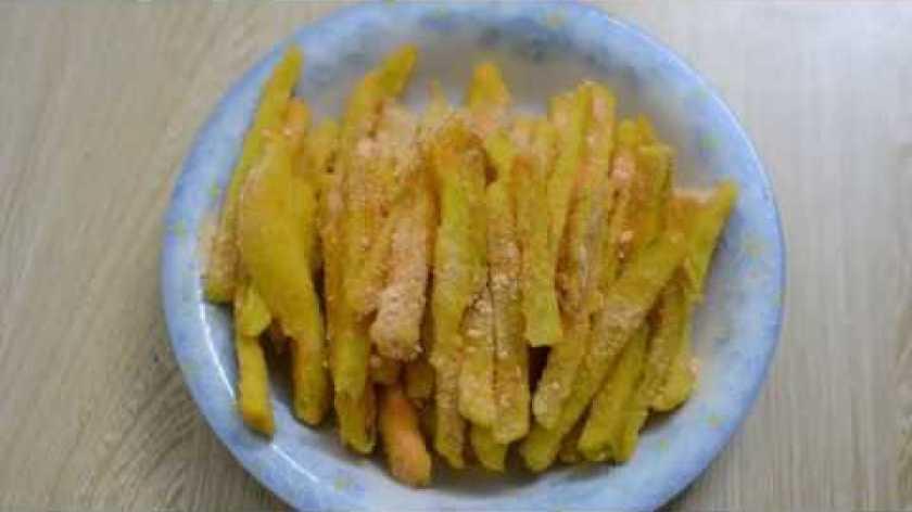 hướng dẫn làm khoai lang lắc - Cách làm món KHOAI LANG LẮC PHÔ MAI giòn ngon - Món Ngon Hôm Nay