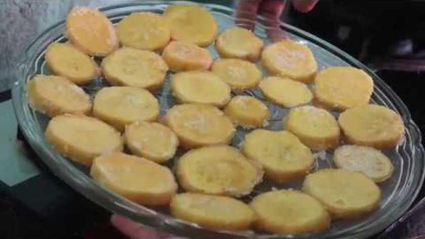 hướng dẫn làm mứt khoai lang - Cách làm mứt khoai lang Nhật nguyên miếng ngon thiệt là ngon // Hà Nguyễn Thị Thanh.