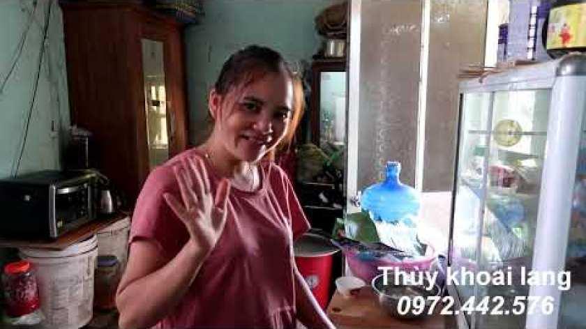 hướng dẫn luộc khoai lang ngon - Cách luộc khoai bằng thìa không cần nước làm đơn giản mà ngon tuyệt| Khoai lang Lộc Bình