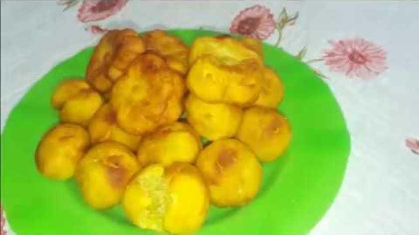 hướng dẫn làm bánh khoai lang - HƯỚNG DẪN LÀM BÁNH KHOAI LANG CHIÊN - sweet potato fries