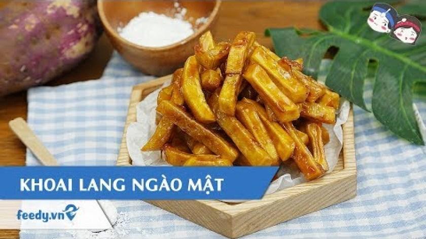 cách nấu khoai lang mật - Hướng dẫn cách làm món KHOAI LANG NGÀO MẬT | Feedy TV