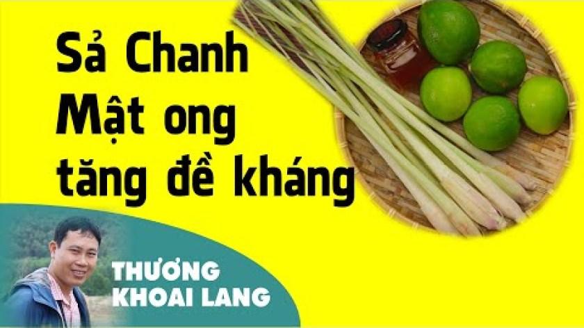 cách nấu khoai lang mật - Nấu Nước SẢ CHANH MẬT ONG tăng đề kháng  | THƯƠNG KHOAI LANG