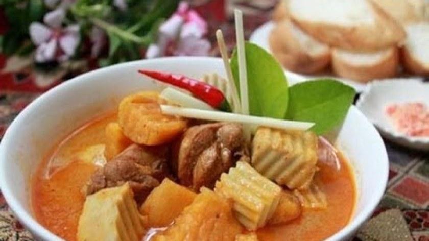 cách nấu khoai lang - Cách làm món cà ri gà kiểu Thái thơm ngon đậm đà cực hấp dẫn