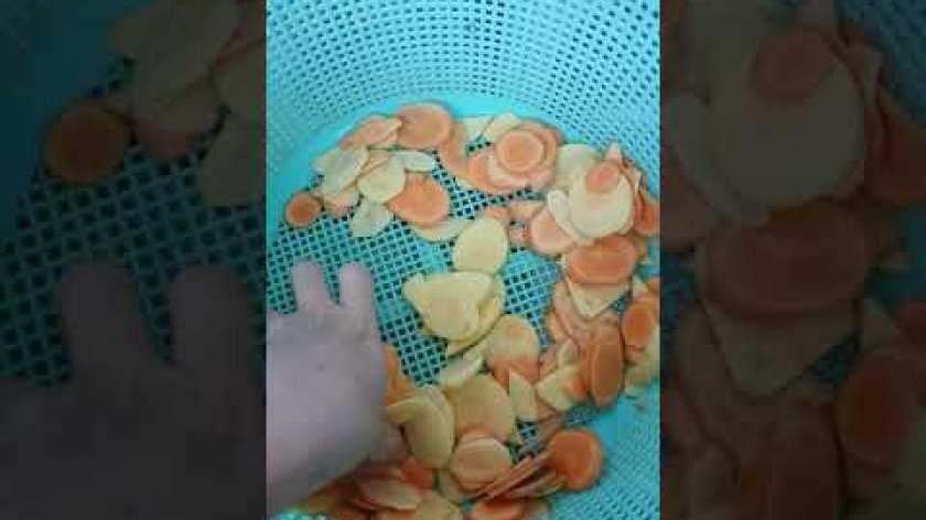 hướng dẫn làm mứt khoai lang - Cách làm mứt khoai lang ròn rụm thơm ngon cực đơn giản