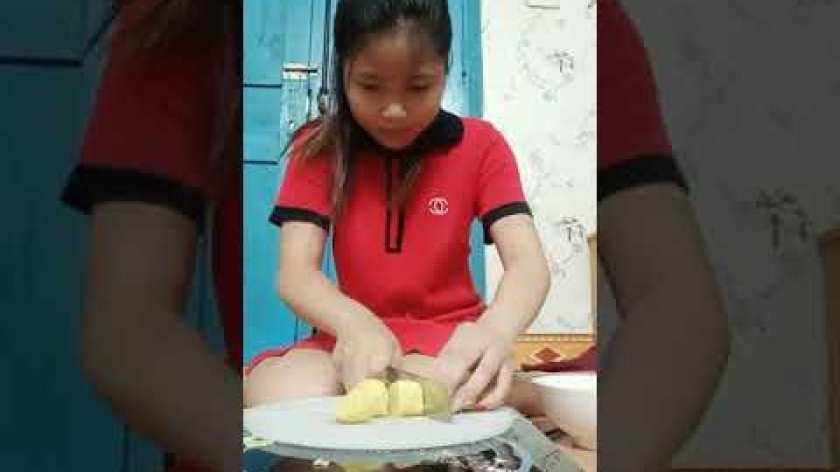 hướng dẫn làm bánh khoai lang - Hướng dẫn làm bánh bi khoai lang chiên tại nhà dễ làm