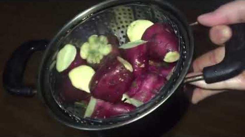 hướng dẫn luộc khoai lang - hướng dẫn cách luộc khoai lang vừa mềm mà ko bị nát