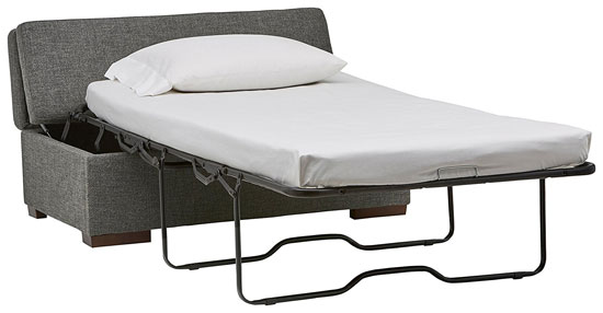 folding ottoman single sofa bed review love seat sleeper 30 multifunctional furniture ideas for small apartments vurni if you re looking a classy that also doubles as cozy guest the rivet is right up your alley this wonderful piece of space saving