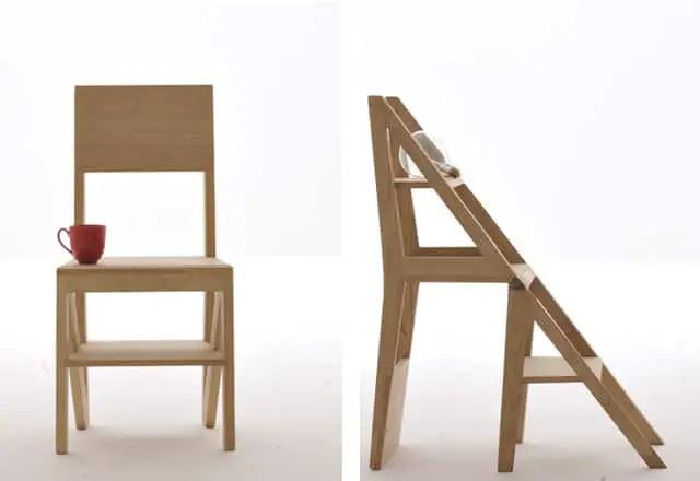 Scala Zero Chair And Stepladder  Vurni