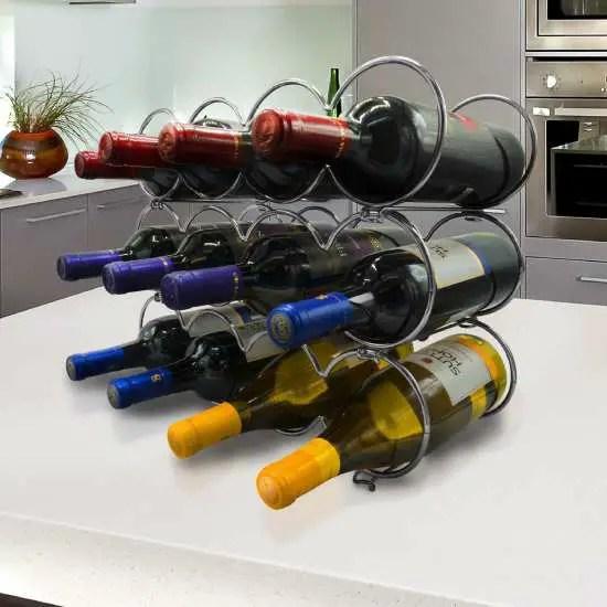 Wine Bottle Puzzle Setup