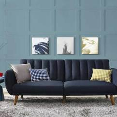 Best Sofa Bed For Living Room Bedroom And Furniture 33 Modern Convertible Beds Sleeper Sofas Vurni This Futon Definitely Has A Mid Century Vibe To It If You Re Looking Comfortable Easy Clean Guest The Novogratz Is