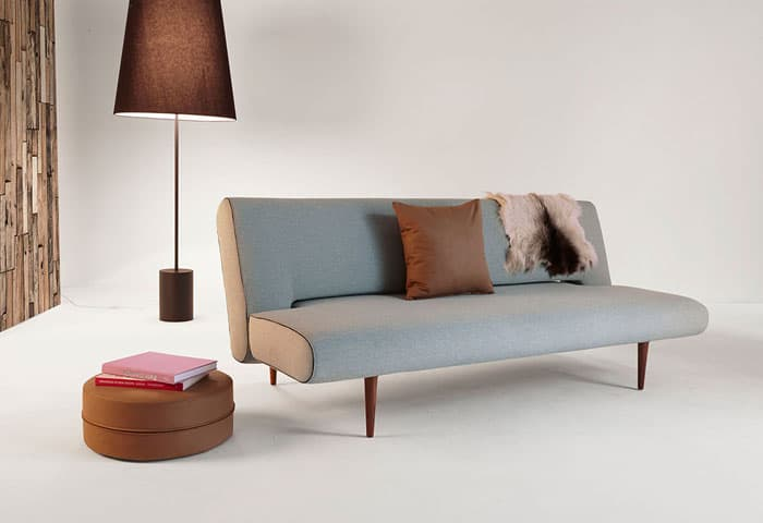 modern convertible sofa with pull out bed red leather sofas ireland 33 beds sleeper vurni the unfurl is a redesign of old trusty futon will make your guests wonder how much you paid for this sleek polished piece before