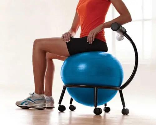 16 Best Balance Ball Chairs For Sitting Behind A Desk  Vurni