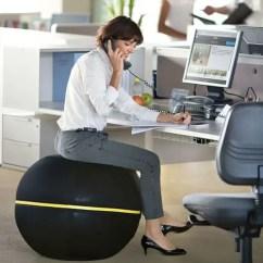 Ball Chair For Office Beach Sand 16 Best Balance Chairs Sitting Behind A Desk Vurni Technogym Wellness