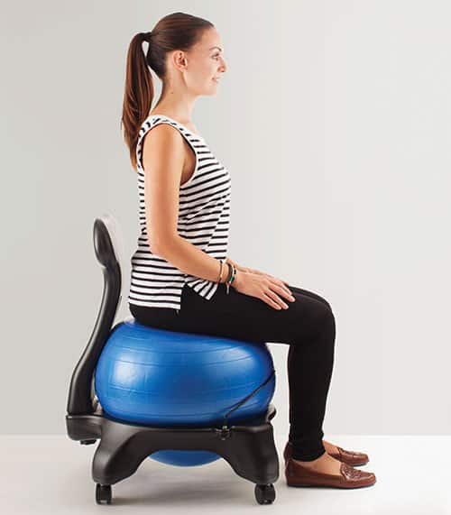 diy exercise ball chair base hunting blind chairs balance posture. secrets the ergo chair. top office ...