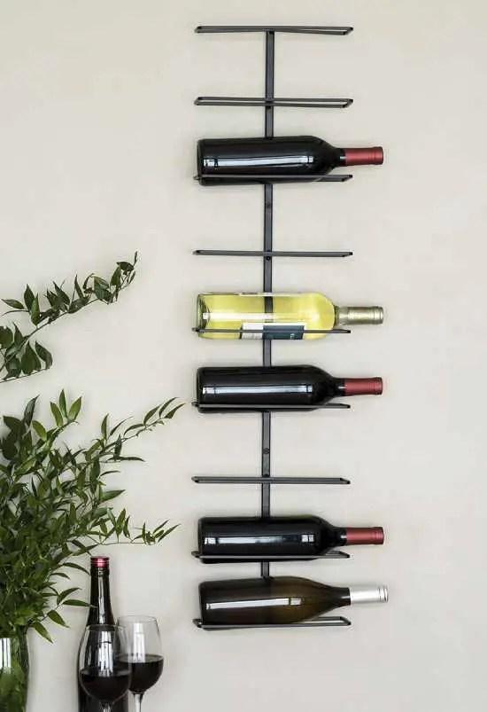 11 top wall mounted wine bottle racks