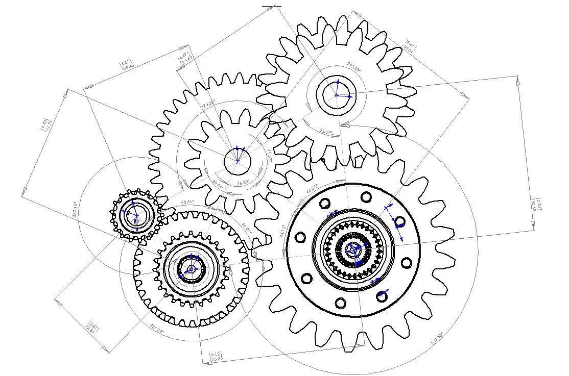 VUTransmission / Shaft-Design