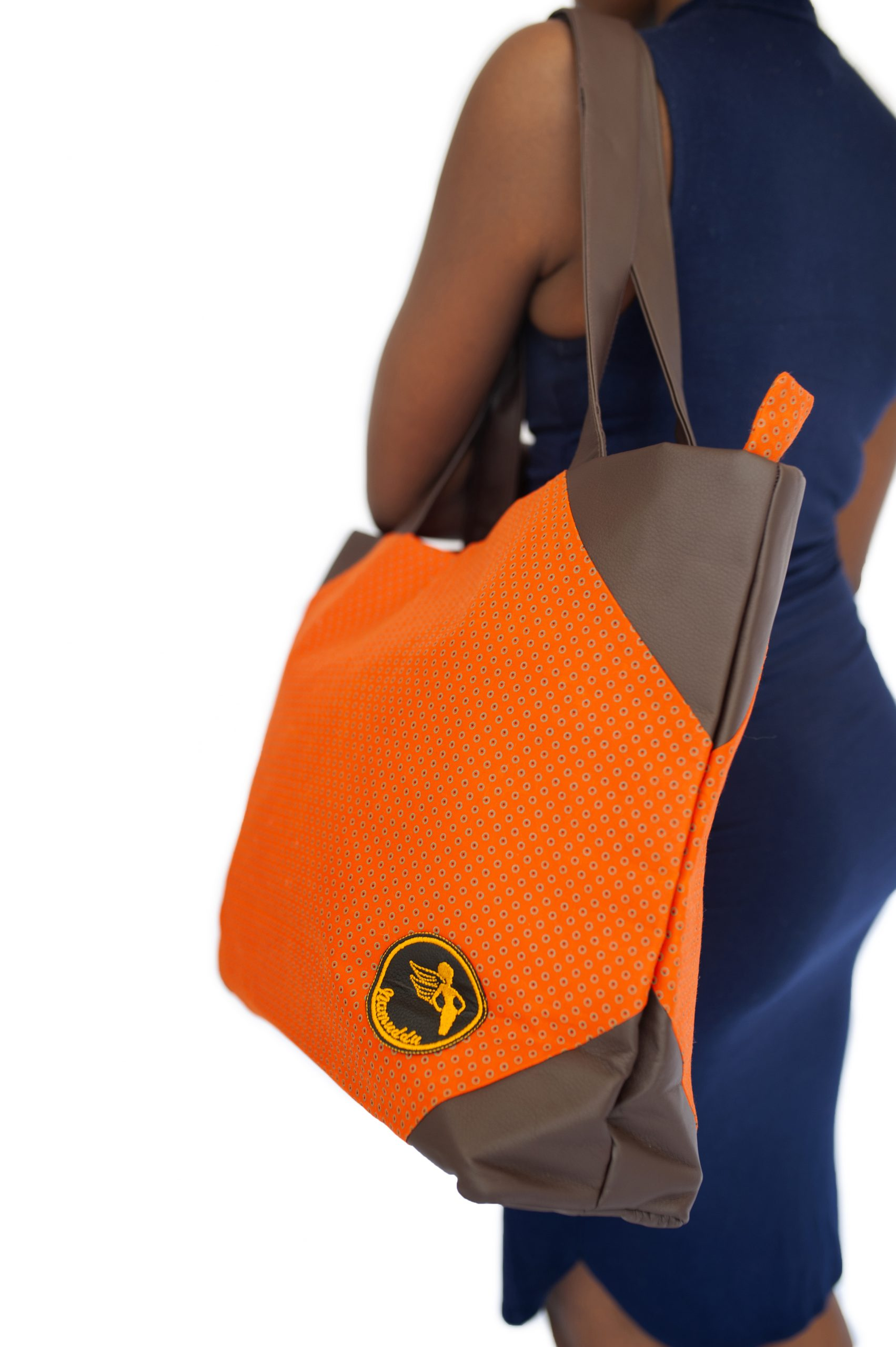 Namuddu Shweshwe Tote Bag – Orange