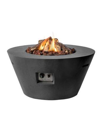 happy-cocooning-composiet-vuurtafel-cone-zwart-1