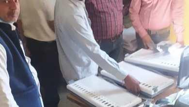 Photo of जिले में स्थानीय निर्वाचन के लिये ईवीएम का प्रदर्शन