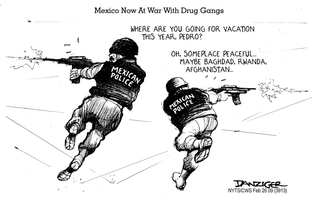 Vietnam Veterans Against the War: THE VETERAN: Mexico Now