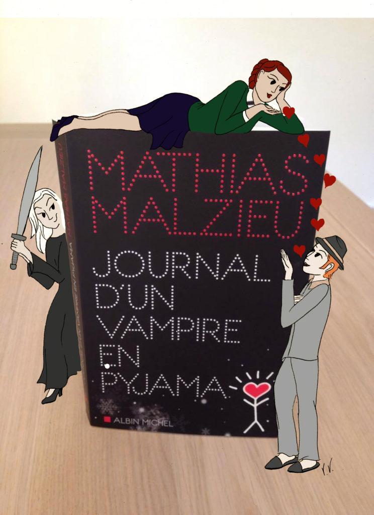 Journal D'un Vampire En Pyjama : journal, vampire, pyjama, Journal, Vampire, Pyjama/Diary, Pajamas, Virginie, BRAZILIER-RIDEAU