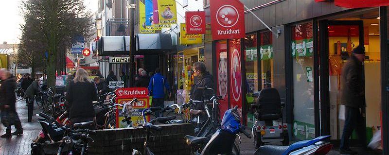 Stationsstraat van Ermelo